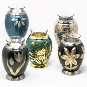 Metal Candle Urns